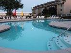 Resort-style heated pool.