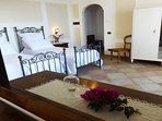 Villa with twin bedroom on demand three single beds or double bedroom sorrento