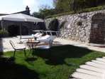 Solarium, garden and outside shower villa with private pool situated in a quiet place massa lubrense