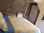 Master Bedroom - Double bedroom on ground floor. Additional fold-away bed or cot is available if req