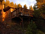 Perched on the Mountain side for Quiet seclusion and Privacy