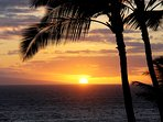 Amazing nightly sunset from your private lanai/patio area