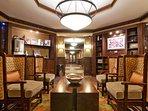 Coffee Lounge at Arrowleaf Lodge
