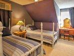 The third bedroom has 2 twin beds and is the perfect place for kids!