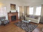 The Peach blossom unit - 3 bedrooms- Across the street from the Beach! Up to 8 p