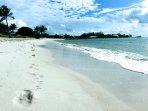 Sombrero Beach - 1.25 miles down the path to beach