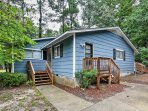 This charming Raleigh home is perfect for your next relaxing vacation!