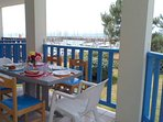 Appartement vue sur mer, port et golf