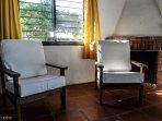 Bungalow 3 ambientes - Base 5 personas (hta 7 huespedes): Juego sillones