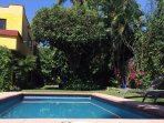 swim in this private pool