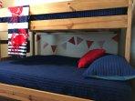 Upper Level Kid Room; Full On Bottom -  Twin On Top