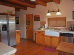 Upgraded modern kitchen with all new stainless appliances