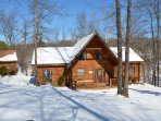 Enjoy the cabin in the winter