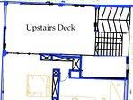 Peacock Villa Upstairs Floor Plan