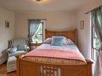 Four upstairs bedrooms offer nights of rejuvenating slumber.