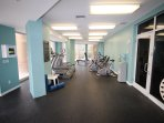 Westwinds fitness center.