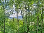 You're surrounded with beautiful forest views at this property!