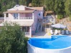 Beautiful villa with panoramic sea views
