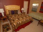 Bedroom 2 with Queen same as Bedroom 1 plus twin bed for 5th sleeping spot