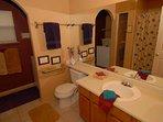 Always Squeaky Clean Bathroom. Plenty of Wash, Hand & Bath Towels. Hair dryer. Washer & Dryer