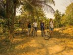 Our most popular cycle tour in the countryside on Srirangapatna. Check MYCycle on Trip Advisor