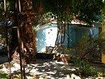 Vista dal giardinetto