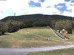 Ski lift at Mont-Sainte-Anne