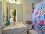 3rd bath with tub/shower.