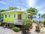 Here is the sand dollar bungalow.