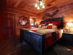 Master King Bed with incredible comfortable beds