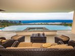 Breathtaking ocean views from the home and sundeck!