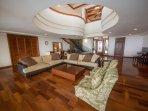 Elegantly designed living area!