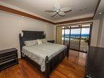 Beautiful ocean view bedroom and bath!