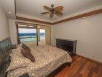 Beautiful ocean view bedroom with bath!