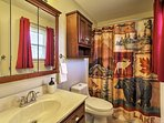 You'll enjoy the privacy of 3 pristine full bathrooms in the home.