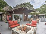 Head out to the deck for some fresh air.