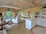 The cottage contains a kitchenette for your convenience.