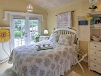 Curl up in this cozy bed for a peaceful slumber.