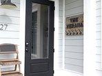 The Verana back door entrance