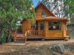 Relax and reconnect with family and friends at this peaceful cabin!