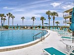 Enjoy a beach retreat at this vacation rental condo in St. Augustine.