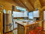 Cook with ease in this fully equipped kitchen.