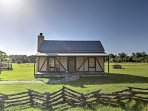 Take a trip to Texas Hill Country and stay in 'French Cottage,' a charming 1-bedroom, 1-bathroom vacation rental...