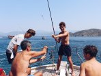 Boat trip from Fethiye Harbour