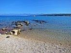 Spiaggia a Malinska