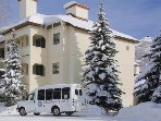 On call winter shuttle to get you to the slopes!
