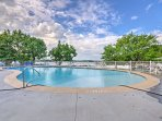 During the warmer months, you'll love splashing around in the community pool.