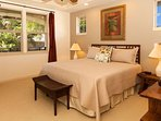 Peaceful and beautiful master retreat. Tastefully decorated with a king bed.
