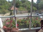 View from mezzanine window