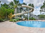 The Windor Hills resort features a water slide, splash fountain, castle playground and so much more!